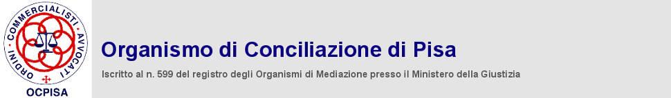 logo Organismo di Conciliazione di Pisa